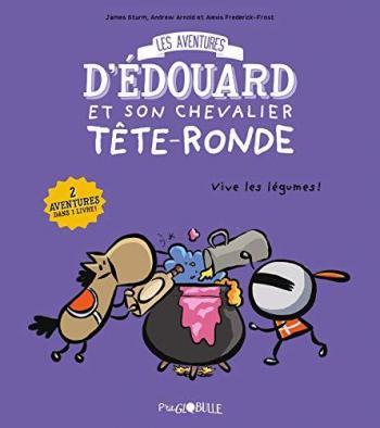 Couverture de l'album Les Aventures d'Édouard et son chevalier Tête-ronde - 2. Tome 2
