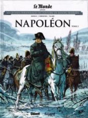 Couverture de l'album Les Grands Personnages de l'Histoire en BD - 10. Napoléon - Tome 2
