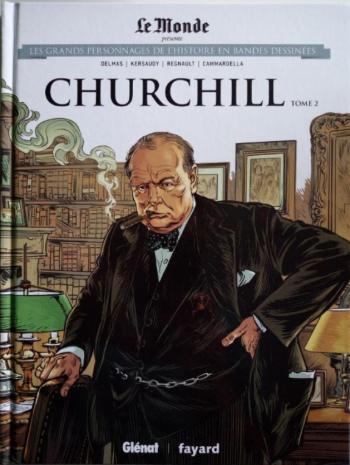Couverture de l'album Les Grands Personnages de l'Histoire en BD - 14. Churchill - Tome 2