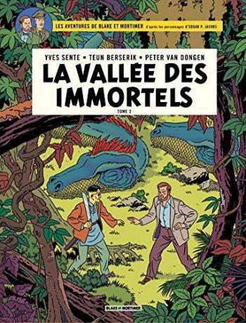 Couverture de l'album Blake et Mortimer (Blake et Mortimer) - 26. La Vallée des Immortels II - Le Millième Bras du Mékong