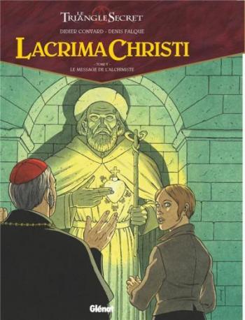 Couverture de l'album Le Triangle secret - Lacrima Christi - 5. Le Message de l'Alchimiste