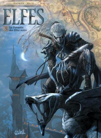 Couverture de l'album Elfes - 5. La Dynastie des Elfes noirs