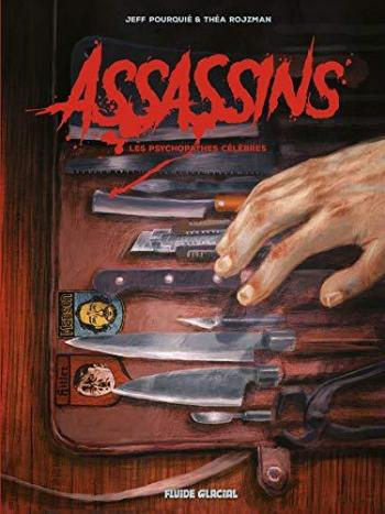 Couverture de l'album Assassins - Les Psychopathes célèbres (One-shot)