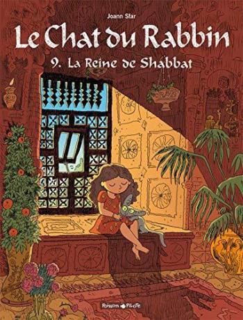 Couverture de l'album Le Chat du Rabbin - 9. La Reine de Shabbat