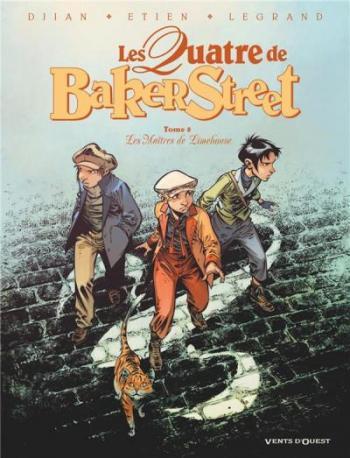 Couverture de l'album Les Quatre de Baker Street - 8. Les Maîtres de Limehouse