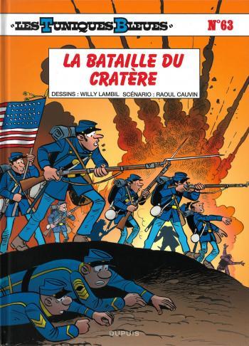 Couverture de l'album Les Tuniques bleues - 63. La Bataille du Cratère