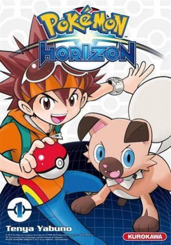 Couverture de l'album Pokémon - Horizon - 1. Tome 1