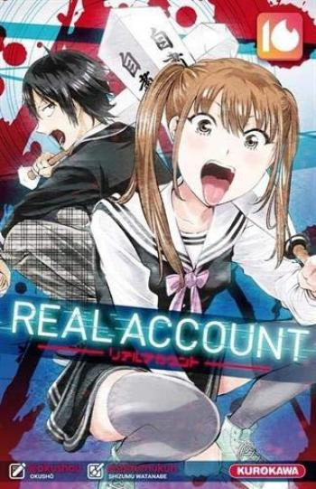 Couverture de l'album Real Account - 16. Tome 16