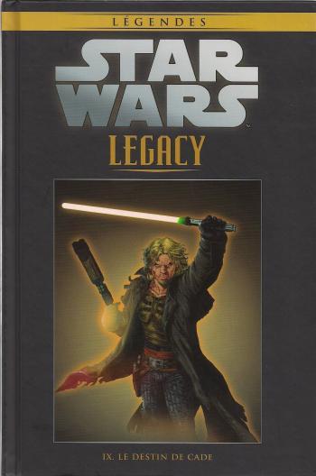 Couverture de l'album Star Wars (Collection Hachette) - 93. Legacy - IX Le destin de Cade