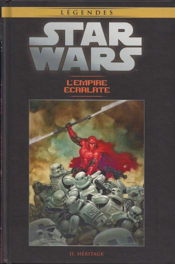 Couverture de l'album Star Wars (Collection Hachette) - 77. L'Empire Ecarlate - II Héritage