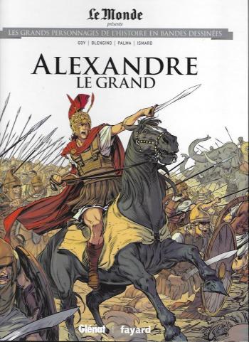 Couverture de l'album Les Grands Personnages de l'Histoire en BD - 17. Alexandre le Grand