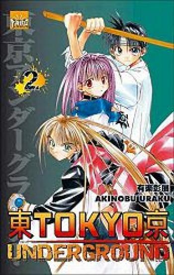 Couverture de l'album Tokyo underground - 2. Tome 2