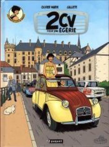Couverture de l'album Les Enquêtes auto de Margot - 3. 2CV pour une Égérie