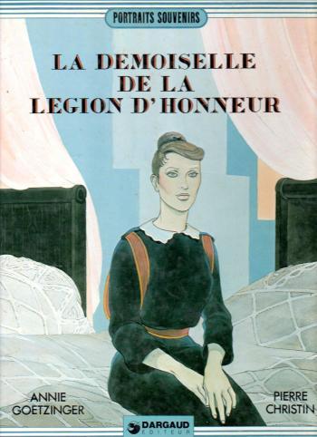 Couverture de l'album La demoiselle de la Légion d'honneur (One-shot)