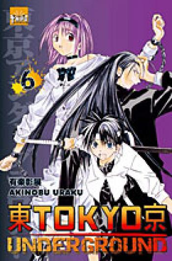 Couverture de l'album Tokyo underground - 6. Tome 6