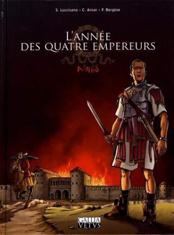 Couverture de l'album L'Année des Quatre Empereurs (One-shot)