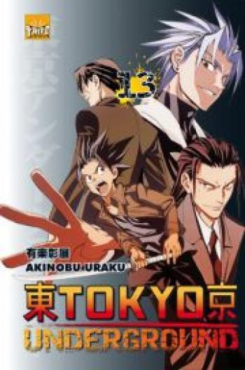 Couverture de l'album Tokyo underground - 13. Tome 13