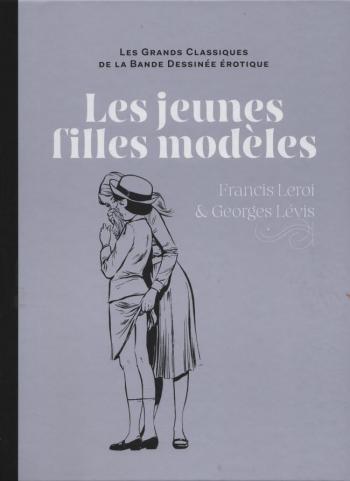 Couverture de l'album Les Grands Classiques de la bande dessinée érotique (Collection Hachette) - 83. Les jeunes filles modèles