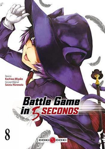 Couverture de l'album Battle Game in 5 Seconds - 8. Tome 8