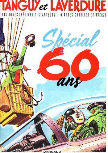 Couverture de l'album Tanguy et Laverdure - HS. Tanguy & Laverdure - anniversaire 60 ans