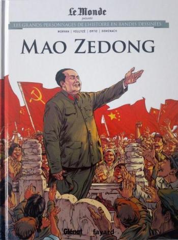 Couverture de l'album Les Grands Personnages de l'Histoire en BD - 19. Mao Zedong