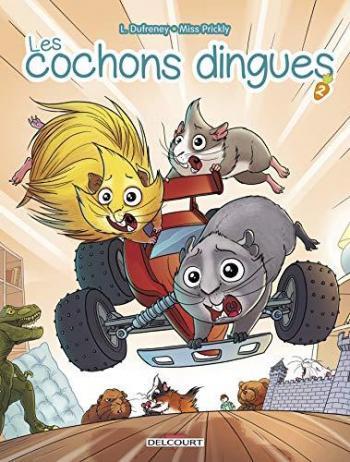 Couverture de l'album Les Cochons Dingues - 2. Tome 2