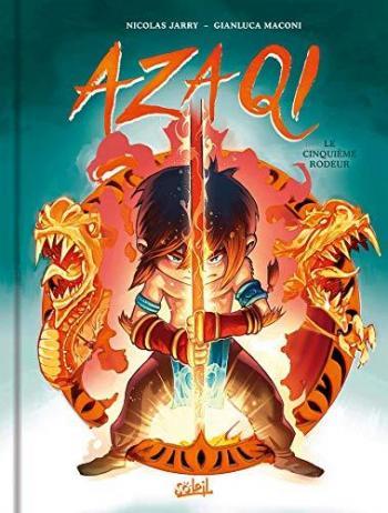 Couverture de l'album Azaqi - 1. Le Cinquième Rôdeur