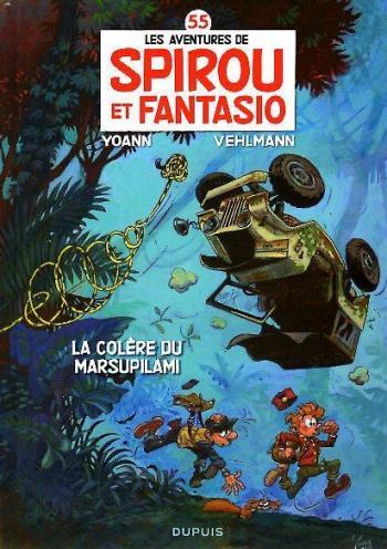 Couverture de l'album Spirou et Fantasio - 55. La colère du Marsupilami