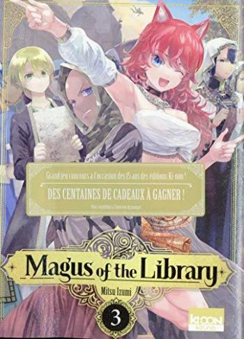 Couverture de l'album Magus of the Library - 3. Tome 3