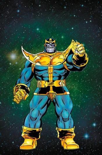 Couverture de l'album Thanos - Le coffret de l'infini - COF.