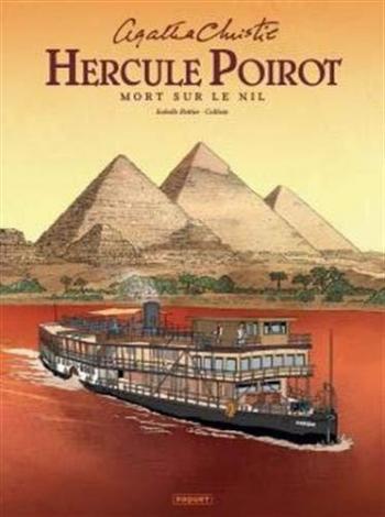 Couverture de l'album Hercule Poirot - 3. Mort sur le Nil