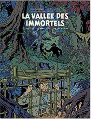 Couverture de l'album Blake et Mortimer (Blake et Mortimer) - 26. La Vallée des immortels (Tome 2)