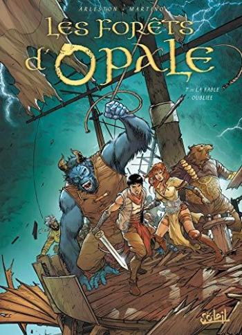 Couverture de l'album Les Forêts d'Opale - 11. La Fable oubliée