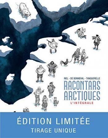 Couverture de l'album Racontars arctiques (One-shot)