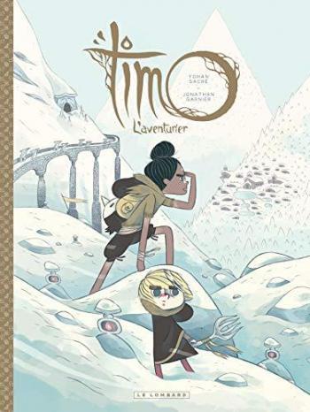 Couverture de l'album Timo l'aventurier - 2. Timo, l'Aventurier tome 2