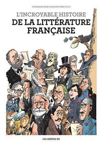 Couverture de l'album L'Incroyable histoire de la littérature (One-shot)