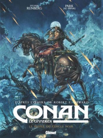 Couverture de l'album Conan le Cimmérien - 8. Le Peuple du cercle noir