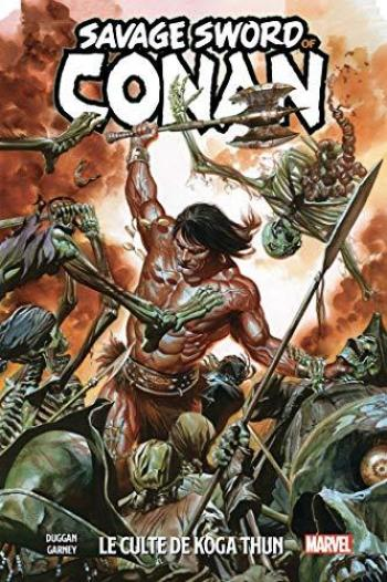 Couverture de l'album The Savage Sword of Conan (Panini) - 1. Le Culte de Koga Thun