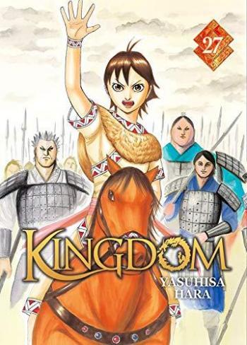 Couverture de l'album Kingdom - 27. Le héros du premier jour
