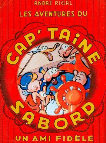 Couverture de l'album Les Aventures du Cap'taine Sabord (One-shot)