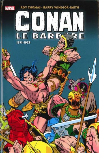 Couverture de l'album Conan le barbare - L'intégrale - 2. (1971-1972)