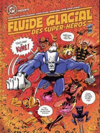 Couverture de l'album Fluide Glacial des Super-héros (One-shot)