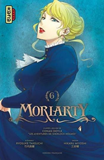 Couverture de l'album Moriarty - 6. Tome 6