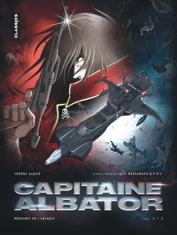 Couverture de l'album Capitaine Albator - Mémoires de l'Arcadia - 2. Les Ténèbres abyssales de l'âme