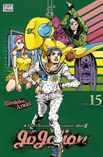 Couverture de l'album Jojo's Bizarre Adventure - Saison 8 - Jojolion - 15. Le Lagon bleu des Dolomites