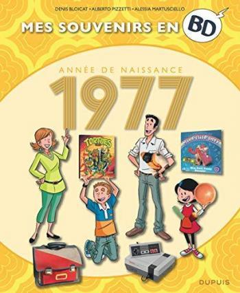 Couverture de l'album Mes souvenirs en BD - 38. 1977