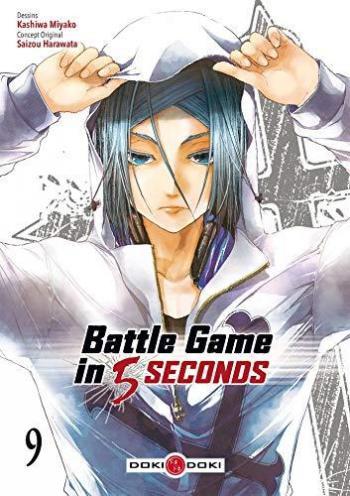 Couverture de l'album Battle Game in 5 Seconds - 9. Tome 9