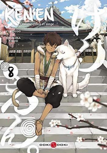 Couverture de l'album Ken'en - Comme chien et singe - 8. Tome 8