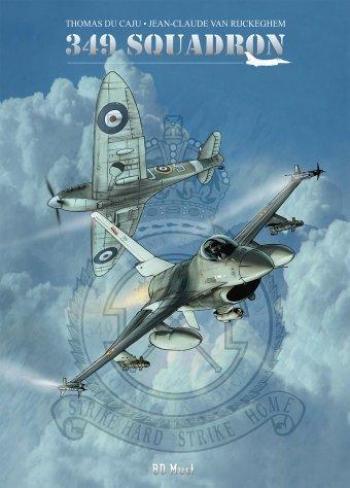 Couverture de l'album 349 Squadron (One-shot)