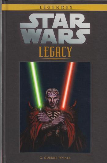 Couverture de l'album Star Wars (Collection Hachette) - 94. Legacy - X Guerre Totale
